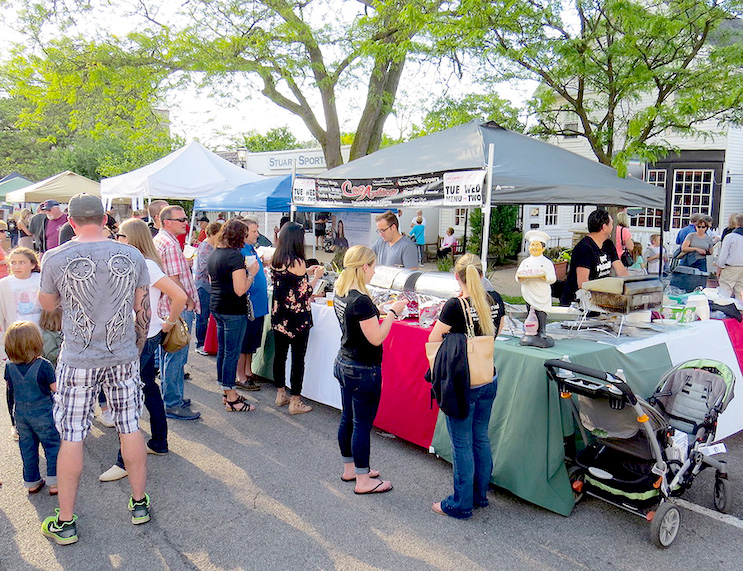 The Taste of Lewiston has been a popular stop for foodies in recent years. (File photo)