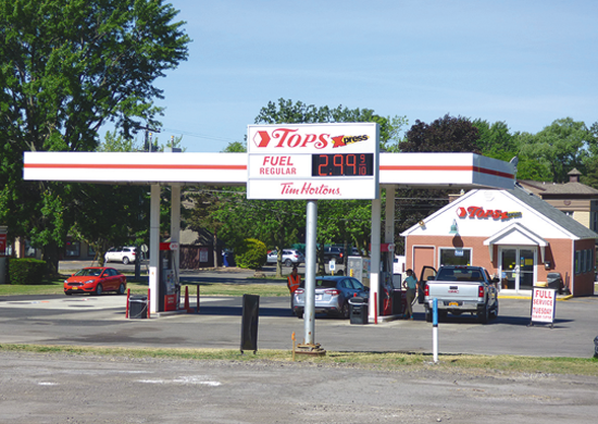 Tops Xpress on Cayuga and South Eighth streets.
