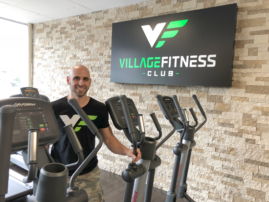 Lewiston gets its gym back with Village Fitness Club