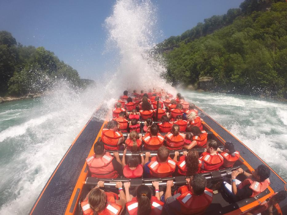 A one-of-a-kind Whirlpool Jet Boat Tours excursion. (Photo courtesy of Whirlpool Jet Boat Tours)