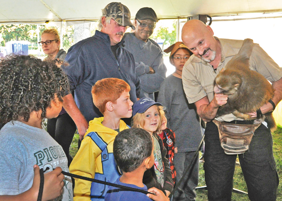 Children and families can get up-close-and-personal with all sorts of animals next weekend at the Wildlife Festival at the New York Power Authority. For more information, visit www.nypa.gov/niagarapowervista. (File photo)