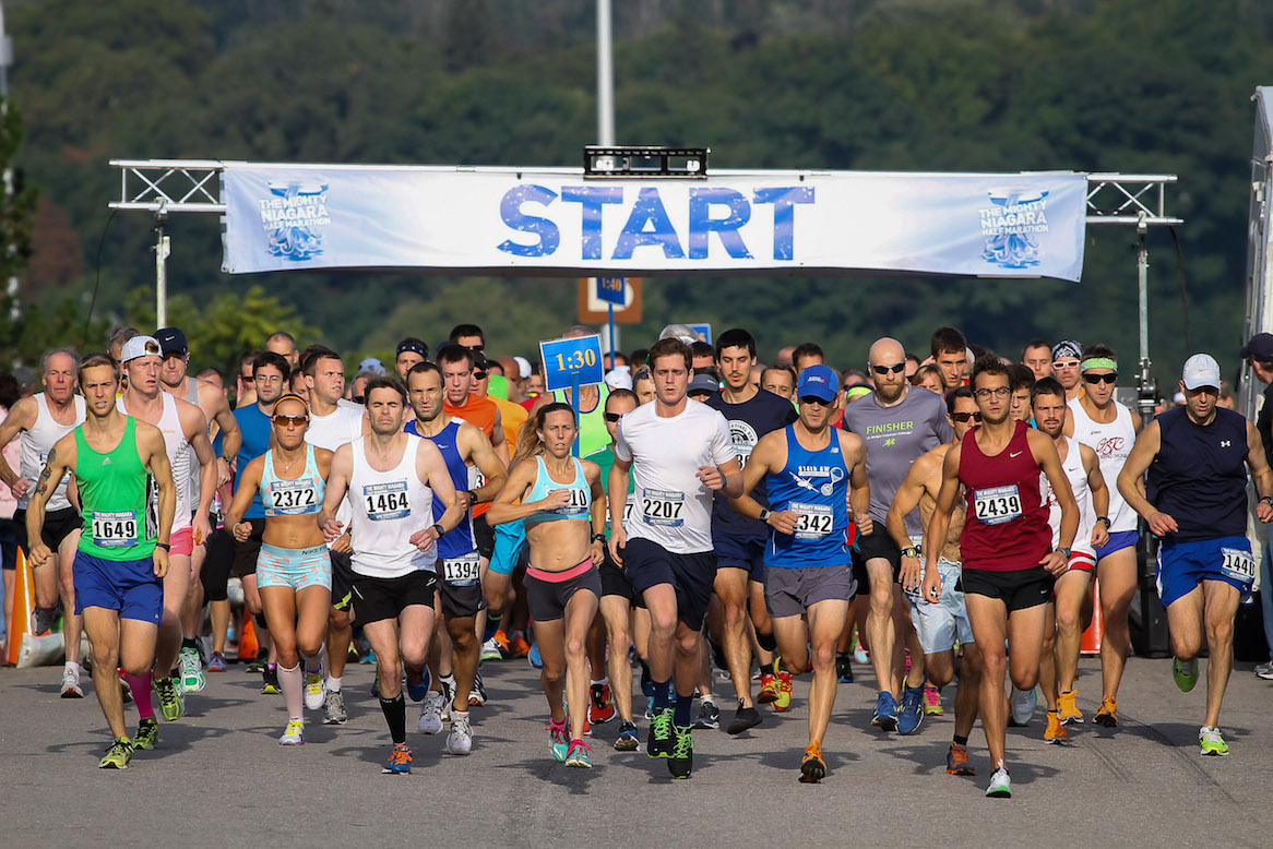 The Mighty Niagara Half Marathon (File photo)