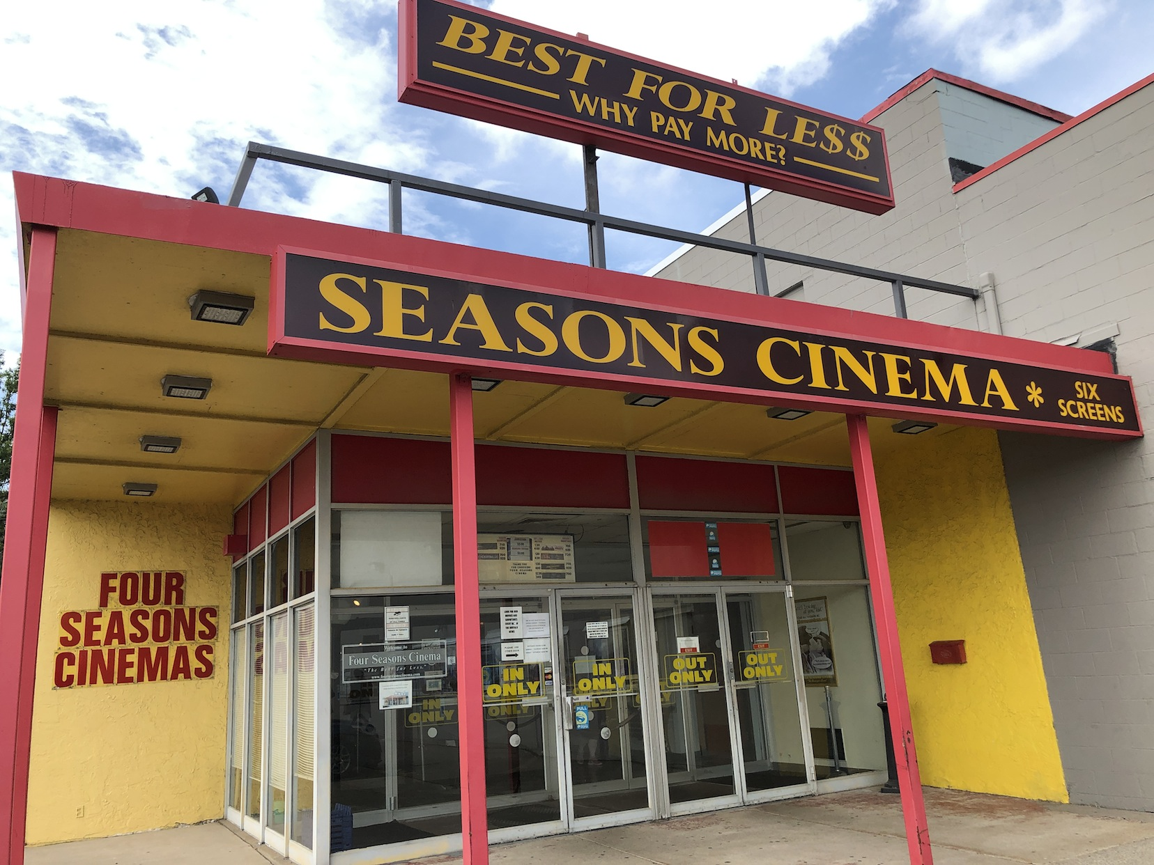 The Four Seasons Cinema.