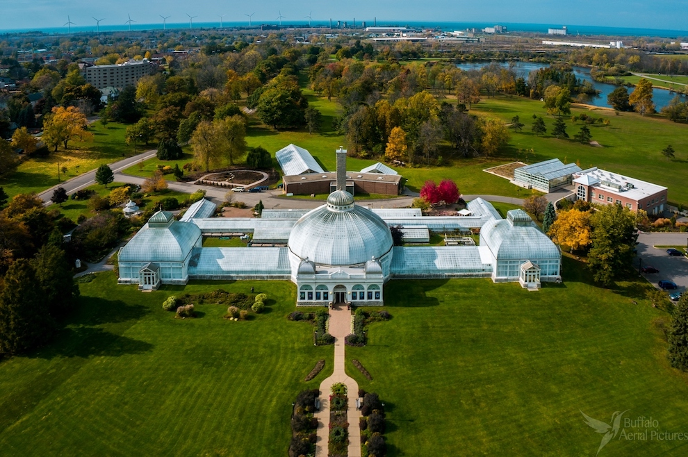The Botanical Gardens (Photo by Buffalo Aerial Pictures; submitted by the venue)