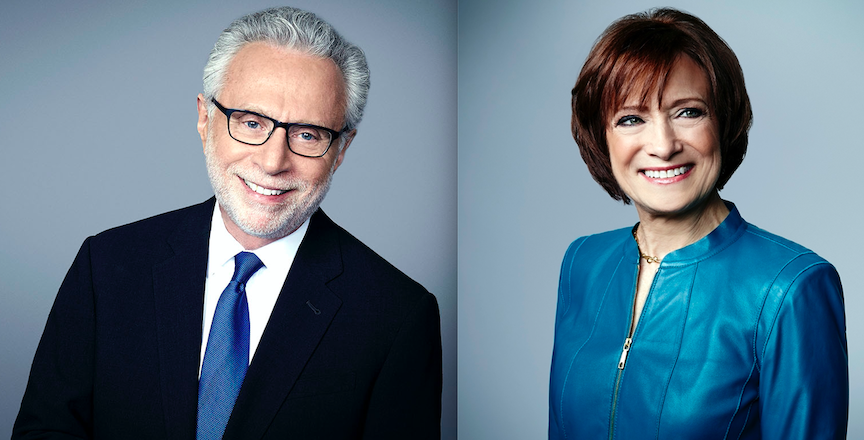 CNN reporters Wolf Blitzer and Susan Candiotti will address the local media. (CNN images courtesy of the Buffalo Broadcasters Association)