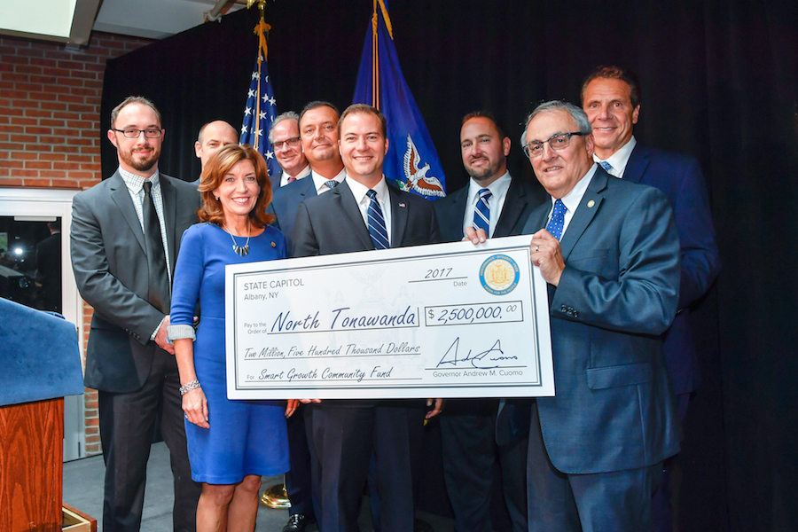 Gov. Andrew M. Cuomo announced four Western New York communities have been selected to receive up to $10 million in funding from the Buffalo Billion II initiative, including City of North Tonawanda. (Photo courtesy of the governor's Flickr page)