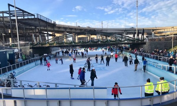 The Ice at Canalside presented by BlueCross Blue Shield of Western New York (Submitted photo)