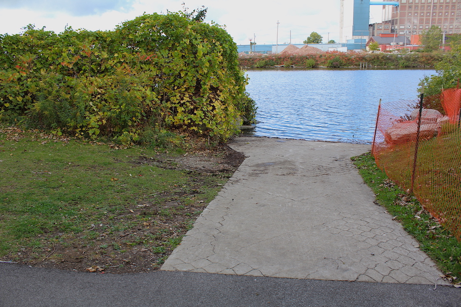 The New York State Department of Environmental Conservation's Ohio Street boat launch. (Submitted)
