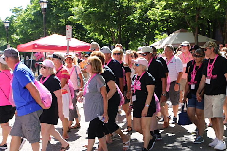 `Strike Out Breast Cancer` returns. Images courtesy of The Breast Cancer Network of WNY.
