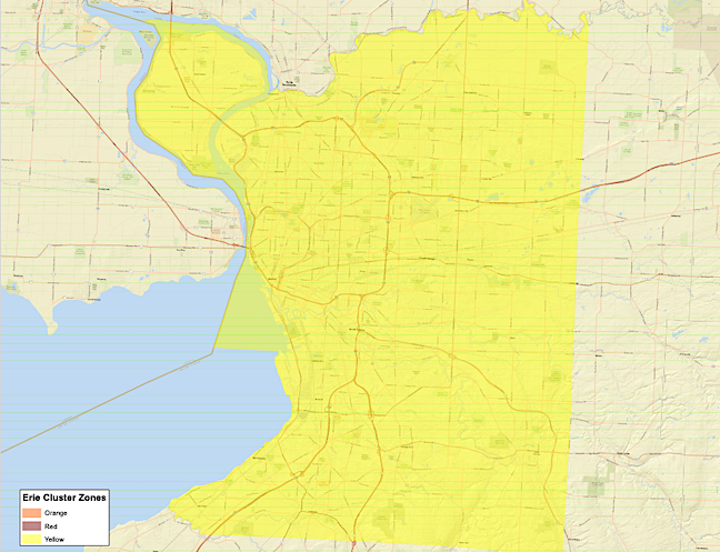 Cuomo Placing Erie County In Yellow Zone