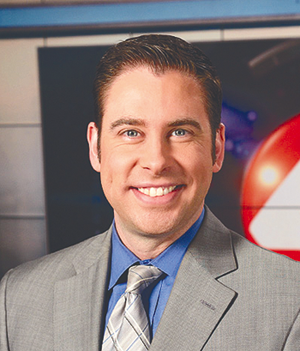 WIVB-TV Channel 4 news anchor Dave Greber