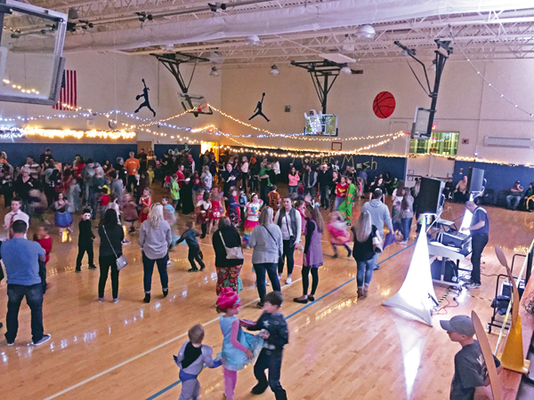 The first-ever Monster Mash, a fundraiser to raise money for a new playground at Sidway Elementary School, took place at the school Oct. 27.
