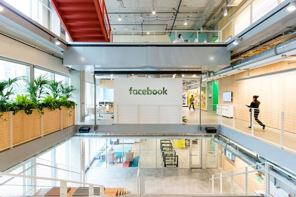 A look inside the Facebook Seattle office at Arbor Blocks 300. (Image courtesy of Facebook)