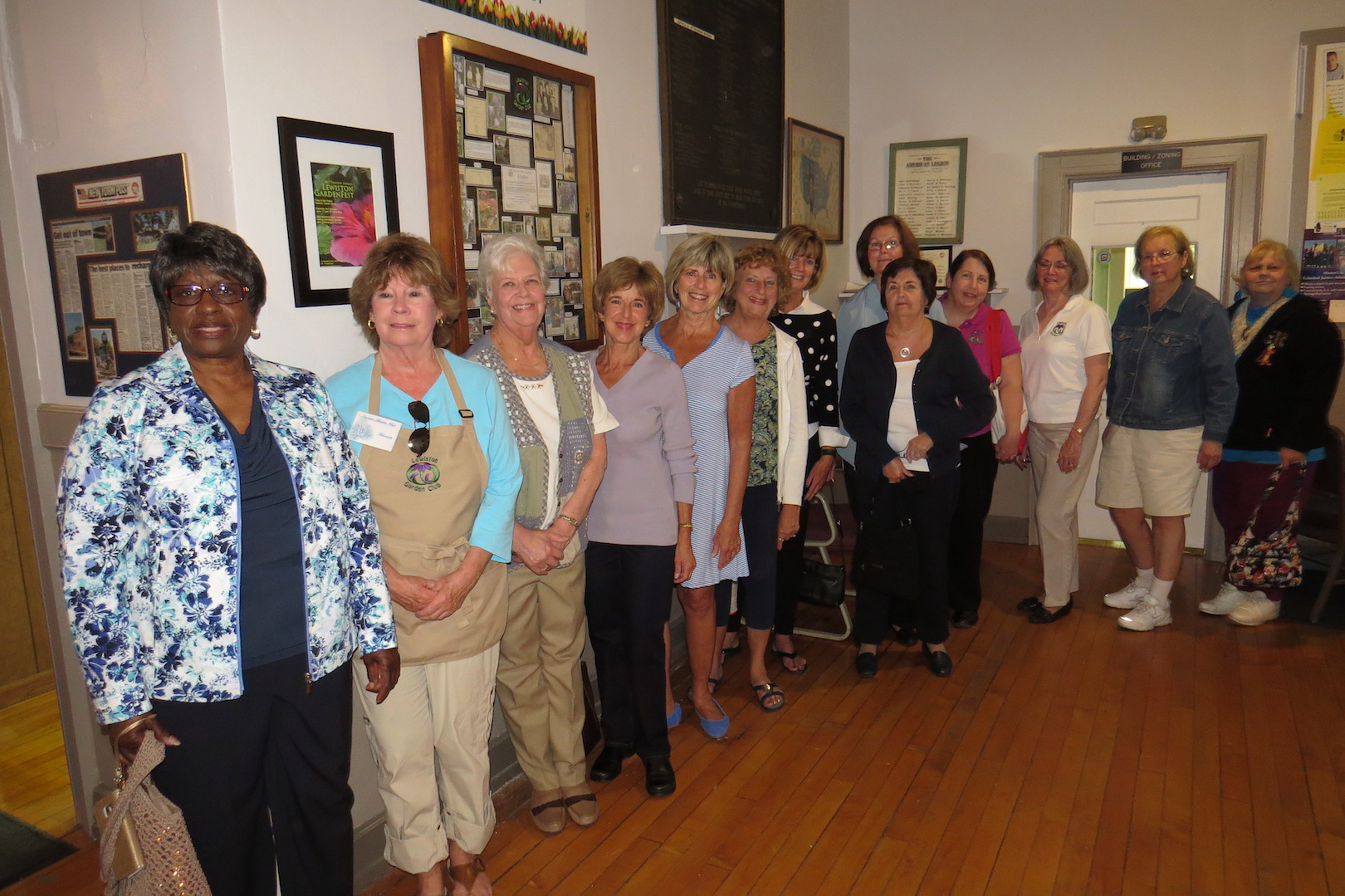 Members of the Lewiston Garden Club.