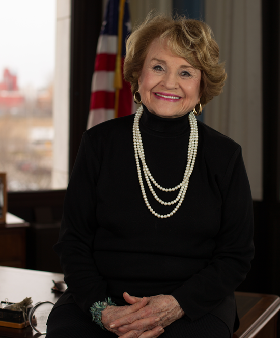 Louise Slaughter (Todd Elliott portrait provided by her office)