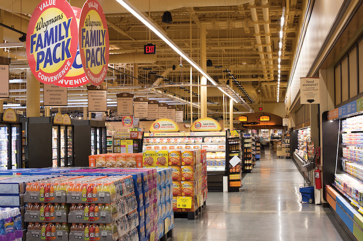A look at the inside of a Wegmans store, courtesy of the company's online press page.