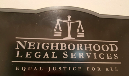 Neighborhood Legal Services truly offers justice for all beyond its motto
