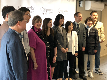 Community Missions welcomes South Korean delegation studying
