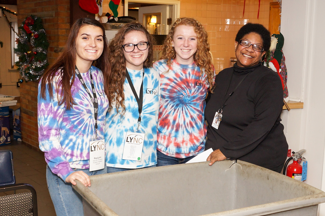 Students from the Leadership Niagara LYNC (Leadership for the Youth of Niagara Communities) program volunteered with Community Missions as part of Giving Tuesday. This year's event is Nov. 27. (Submitted photo)