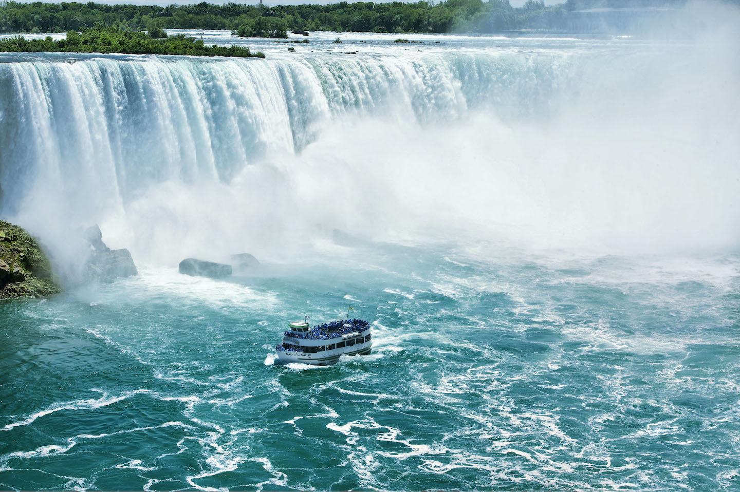 The mighty Maid of the Mist. (Images courtesy of Keenan Communications Group)