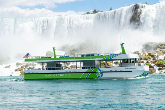 (Image courtesy of the Maid of the Mist)