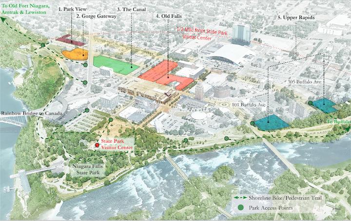USAN announces downtown Niagara Falls development strategy