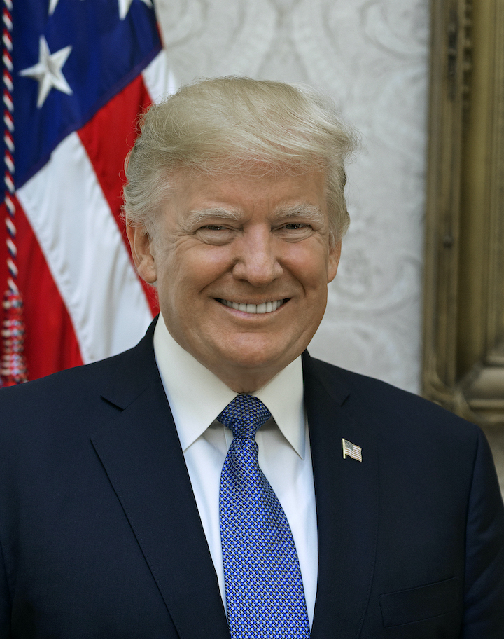 President Donald J. Trump (Photo courtesy of the White House)