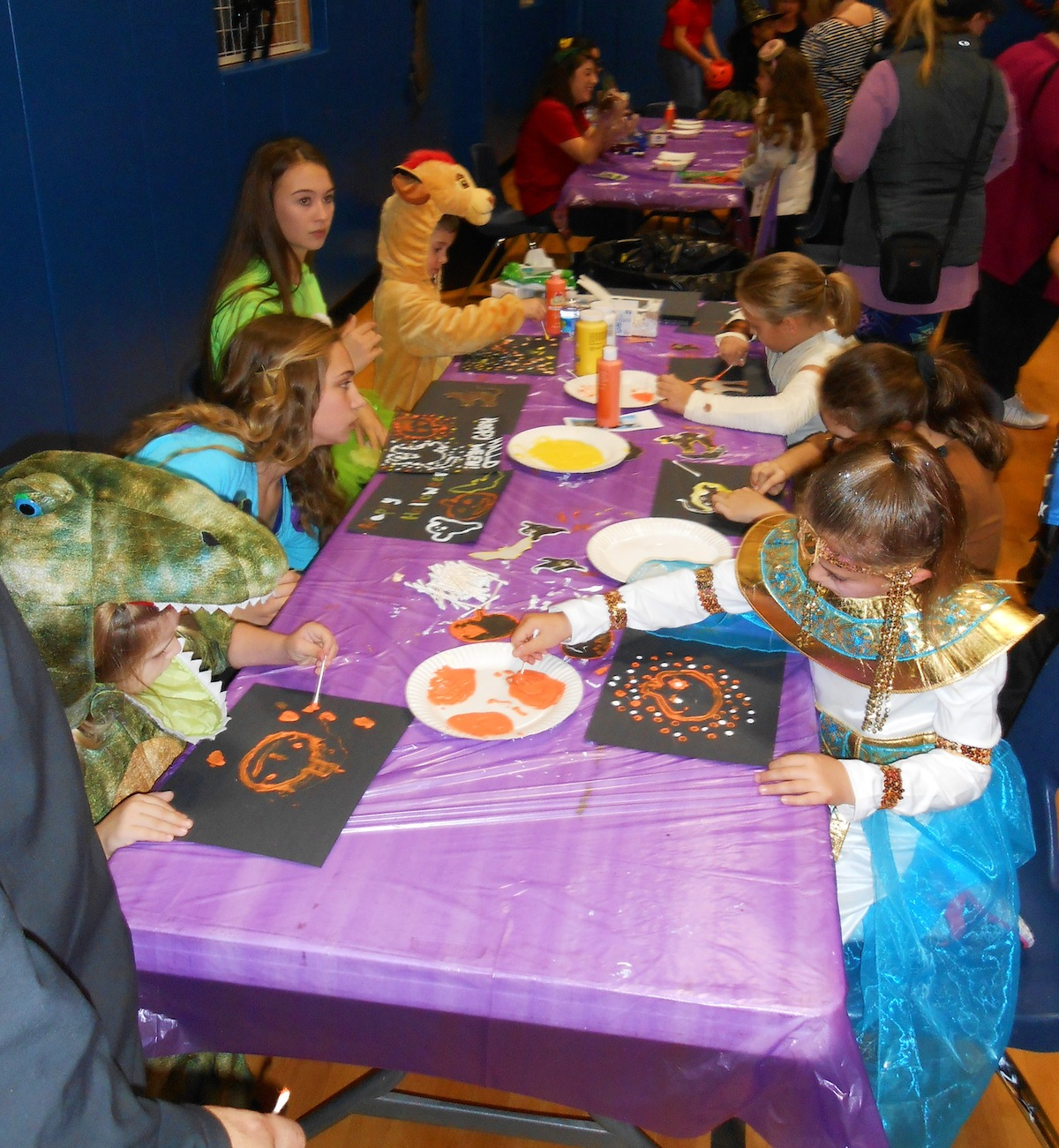 Pictured are scenes from last year's Halloween party at the Wheatfield Youth Center. (Photos submitted by Justin Higner)