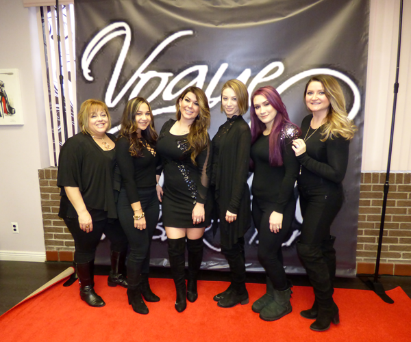 Pictured, from left, are Krista Lisi, Johnnie Baldassara, Christine Conte, Jenna Van Camp, Stephanie Rowe and Jackie Zientara.