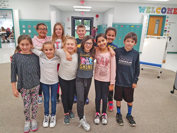 Back row, from left: Amaya Henderson, Ales'undra Chaffee, Henry Riek and Kylee Jones. Front row, from left: Gianna Glovack, Azaria Carter, Sophia Smith, Mia Andrews, Diya Patel and Kyle Krasny.