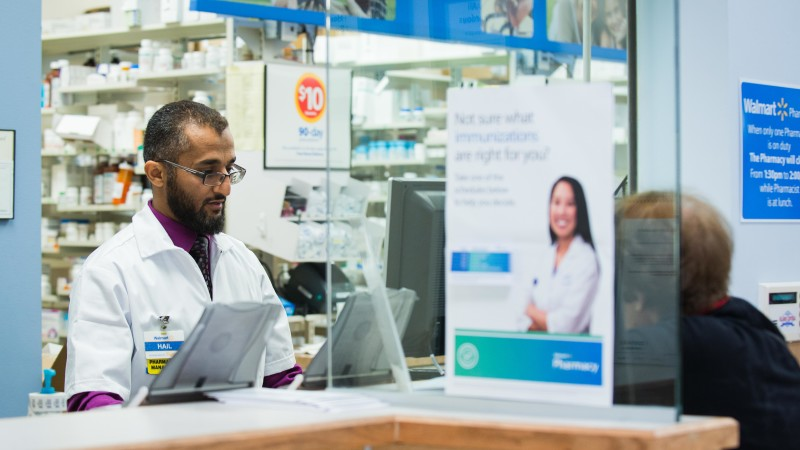 Walmart pharmacists will be on hand to help customers get healthier. (Photo provided by Walmart)