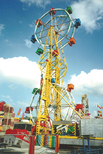 The Sky Wheel photo is courtesy of the Erie County Fair.