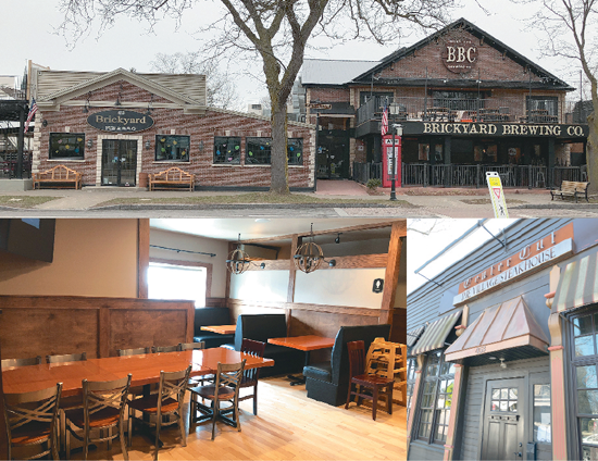 Big changes are taking place at The Brickyard Pub & B.B.Q. and Brickyard Brewing Company. At the same time, patrons have found more menu options at Center Cut: The Village Steakhouse.