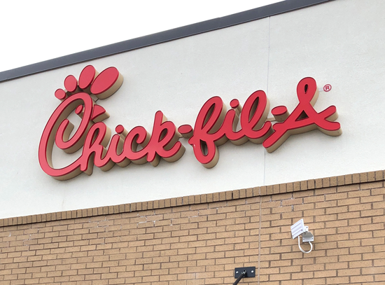 Pictured is the Chick-Fil-A in Cheektowaga.