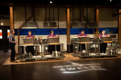 A look at `Chopped: Sweets Showdown,` courtesy of the Food Network.
