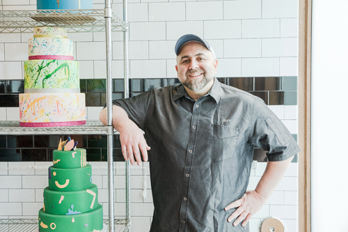 'Duff Takes the Cake' with host and star Duff Goldman. (Food Network photo)