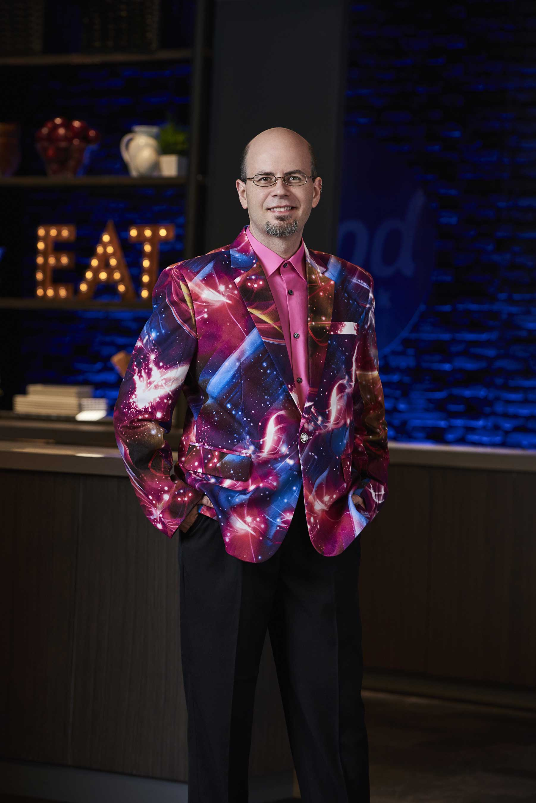 Jason Smith on `Food Network Star.` (Food Network photo)