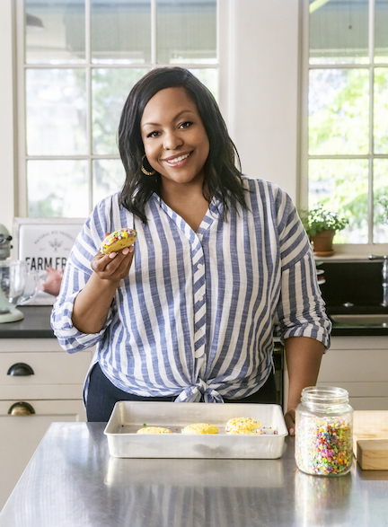 Kardea Brown on Food Network's `Delicious Miss Brown` (Food Network photo)