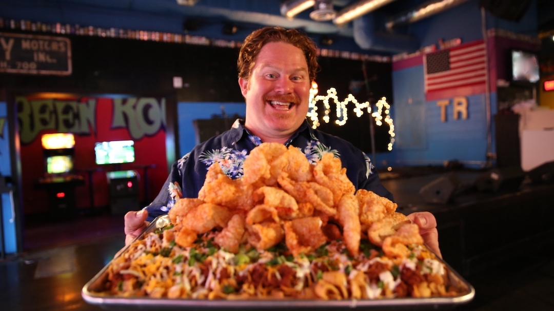 Casey Webb, host of `Man v. Food.` (Cooking Channel photo)