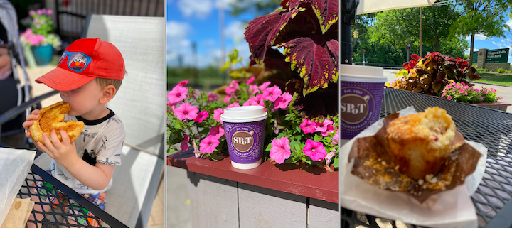 A table with a view, and treats for all ages at the new SPoT Coffee Niagara Falls.