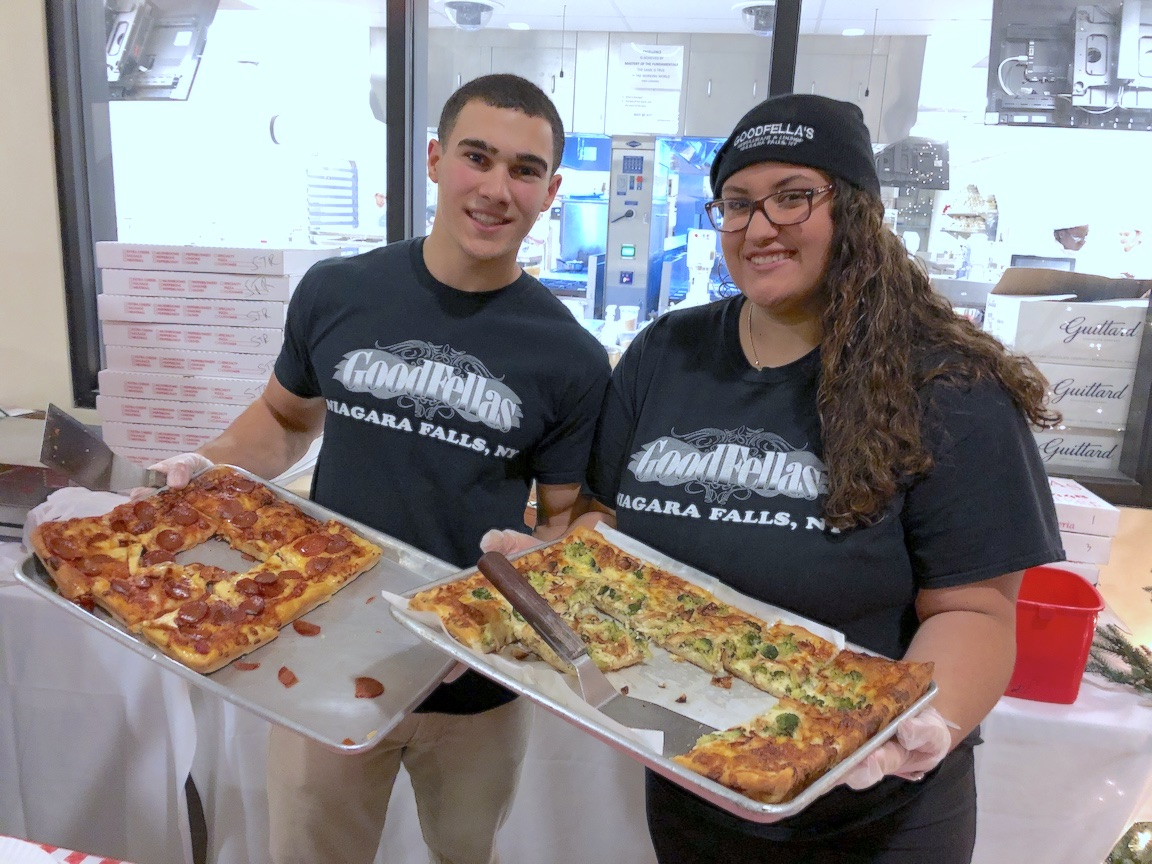 Pizza from Goodfella's in Niagara Falls is always popular, and was well received at the first Festival of Slice. (File photo)