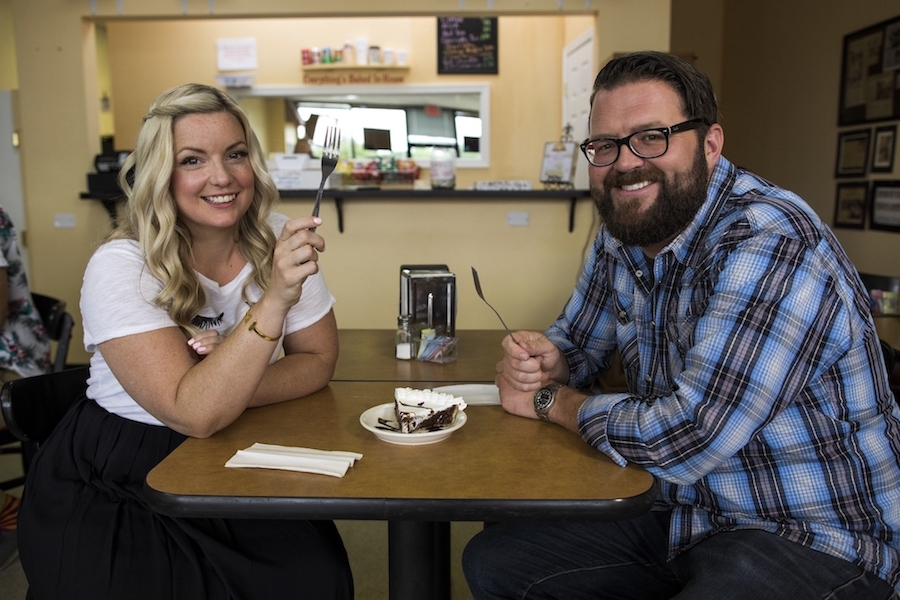 Damaris Phillips and Rutledge Wood on `Southern and Hungry.` (Photo credit: Cooking Channel)