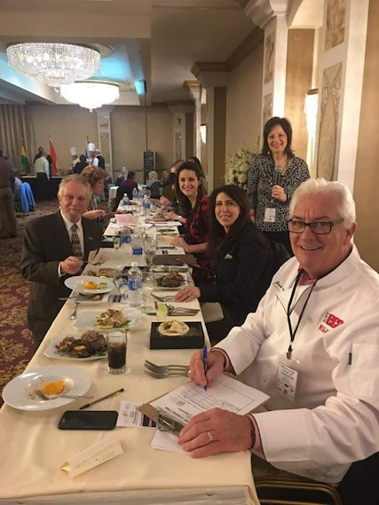 Pictured, from left: Robert Gioia, John R. Oishei Foundation; Melissa Holmes, WGRZ; Lauren Fix, the Car Coach; Brenda Alessi, Entercom account executive and `Brenda's Bites` host; and Jack Quinn, former Erie Community College president.