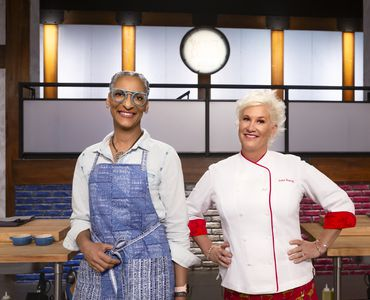 Carla Hall and Anne Burrell host and mentor on `Worst Cooks in America.` (Food Network photo)