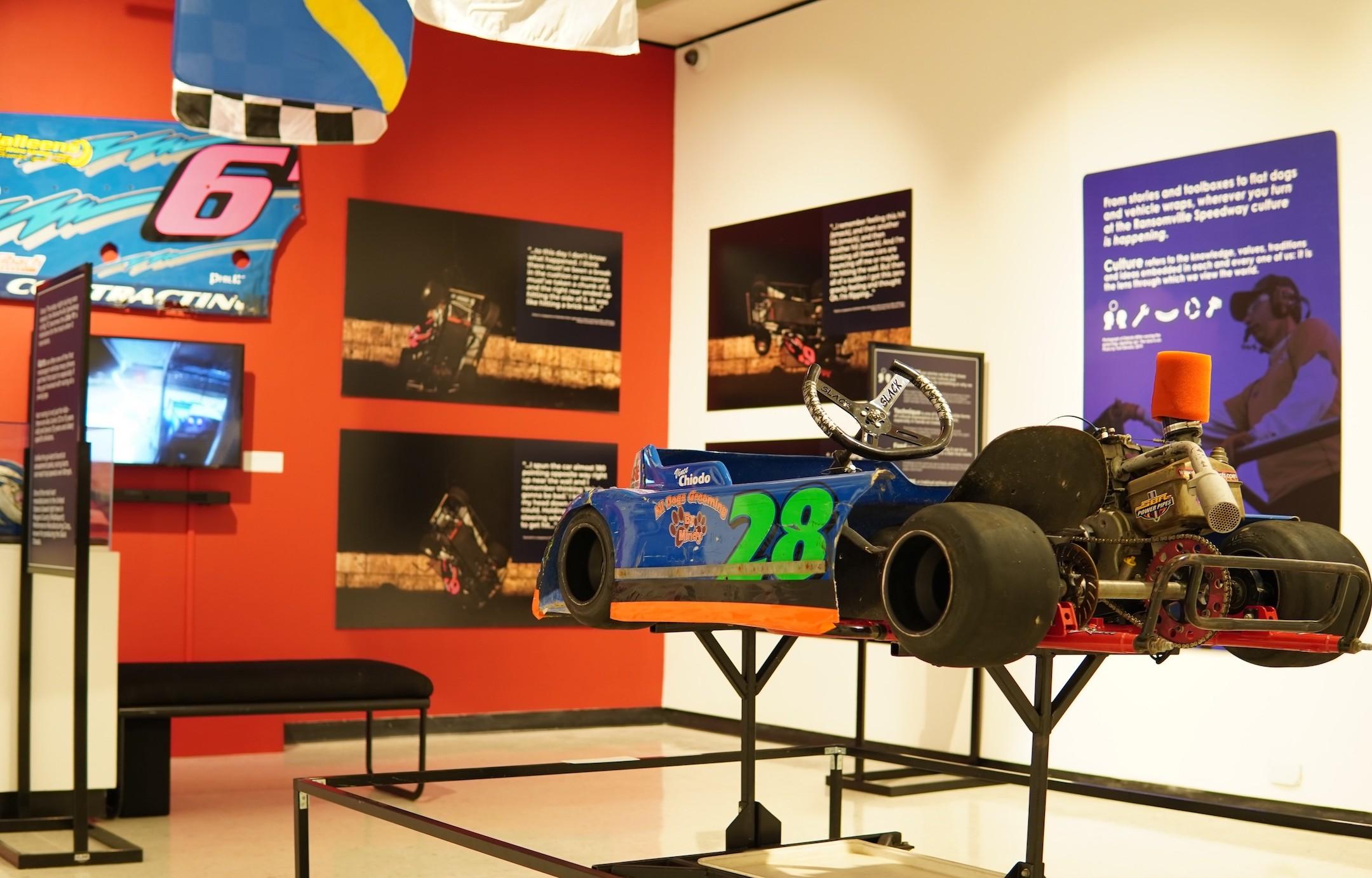 Installation photos of the exhibit courtesy of the Castellani Art Museum of Niagara University.