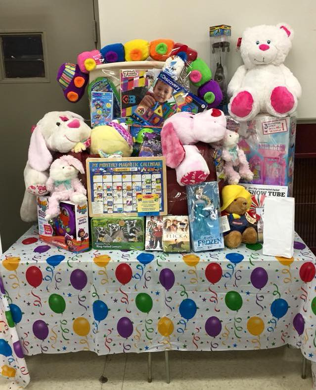 Shown are some of items awarded at a recent `Snowflake Basket Auction.` (Image courtesy of Empower)