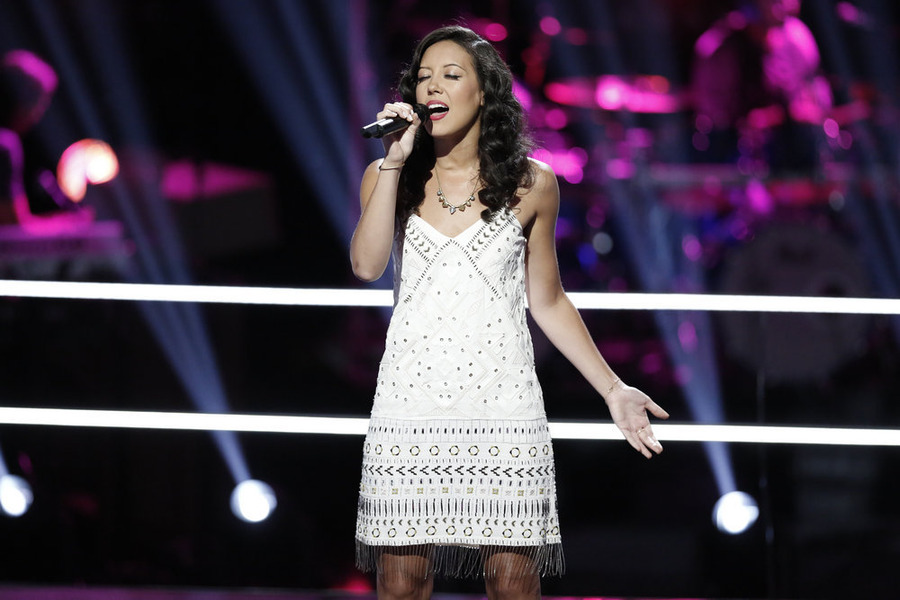 `The Voice`: Amy Vachal performs. (All NBC photos by Tyler Golden)