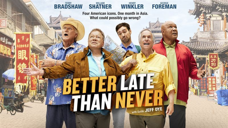 `Better Late Than Never` (NBC key art)