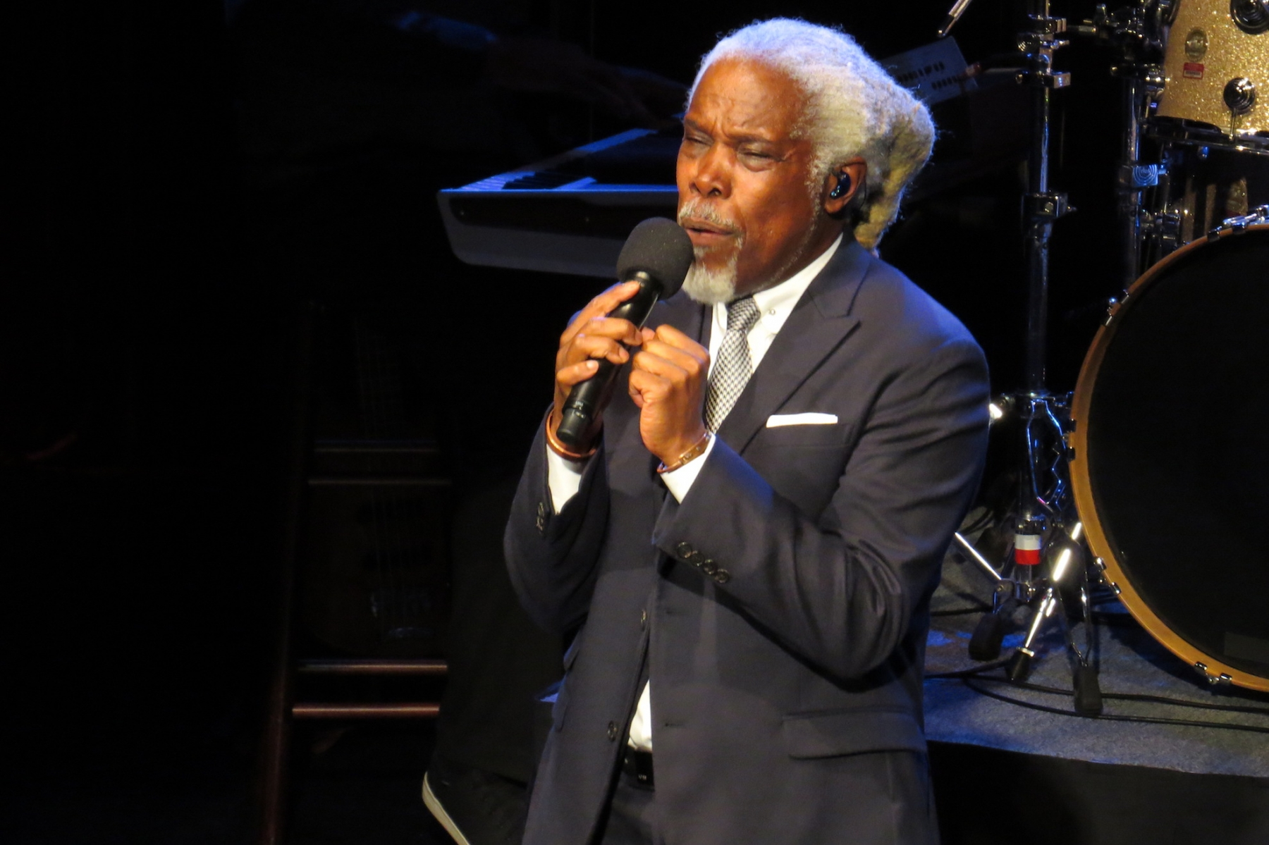 Billy Ocean performed Saturday inside the 440-seat Bear's Den Showroom at Seneca Niagara Resort & Casino in downtown Niagara Falls.