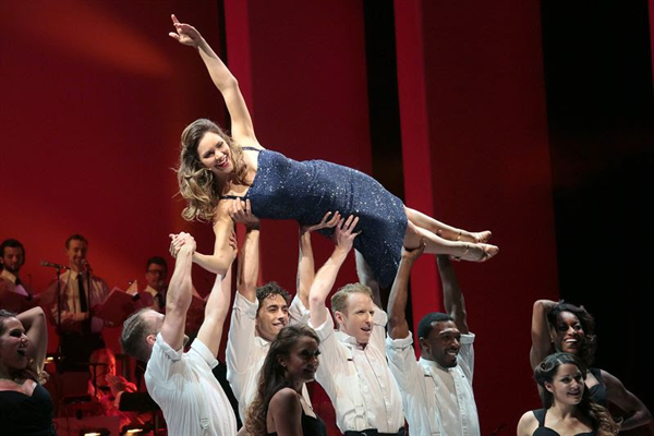 Katharine McPhee as Marilyn Monroe on ``Smash.` No casting has been announced and no one from the cast of `Smash` is involved in the stage musical at this point.